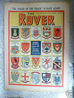 THE ROVER Comic, No.1331, 30th Dec 1950