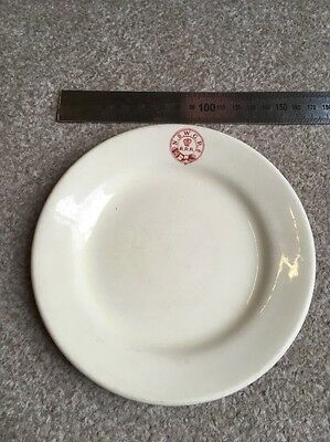 NSWGR Small Plate, New South Wales Government Railways Australia. Grindley 1957