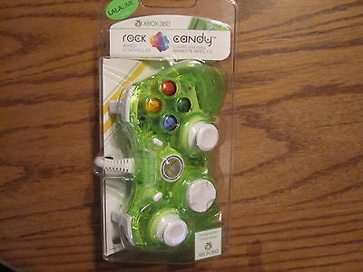PDP Rock Candy La La Lime Green 360 Controller New Wired