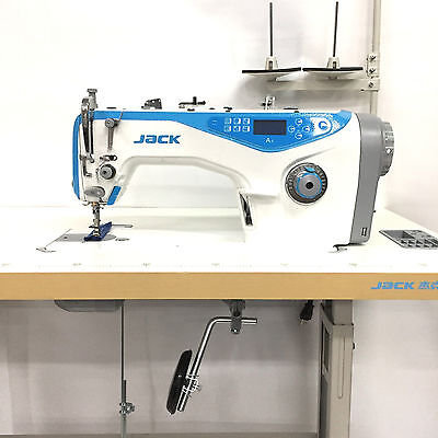 JACK A4 Single Needle Lockstitch Sewing Machine With Automatic Undertrimmer