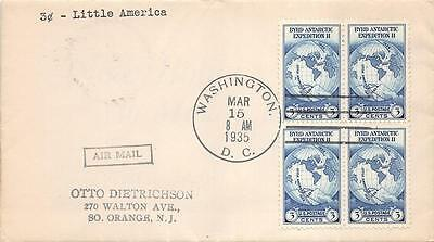 753 3c Byrd Farley issue, First Day Cover Cachet [E120651]