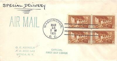 759 4c Imperforate Mesa Verde Farley Issue, First Day Cover Cachet [E120686]