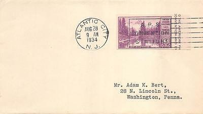 750a 3c American Philatelic Society, First Day Cover Cachet [E120529]