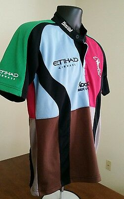 EUC HARLEQUINS F.C. Youth OR Men's/Women's Small RUGBY JERSEY See Measurements