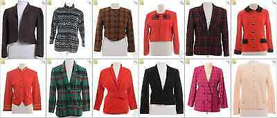 "JOB LOT OF 20 VINTAGE WOMEN""S JACKETS - Mix of Era's, styles and sizes (19116)"