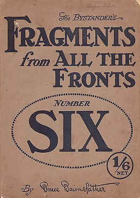 WWI FRAGMENTS FROM FRANCE world war one HUMOROUS CARTOONS by Bruce Bairnsfather