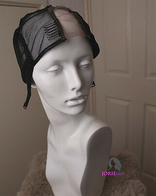 Adjustable Lace Front Wig Cap With Combs | For Crochet Braids & Wig Making