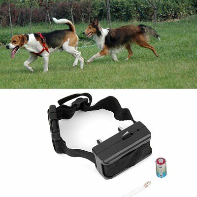 Electronic Anti Bark Dog E-Collar Humane Training Aid Shock Control Stop Barking