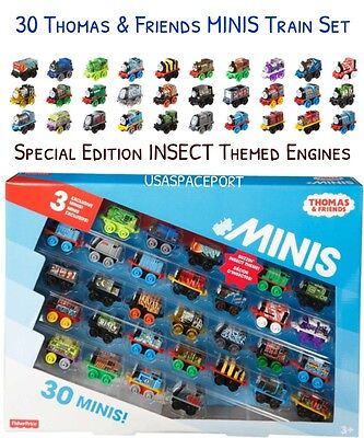 30-Pack Thomas & Friends Exclusive MINIS Train Set INSECT Buzzin Animal Mini Lot