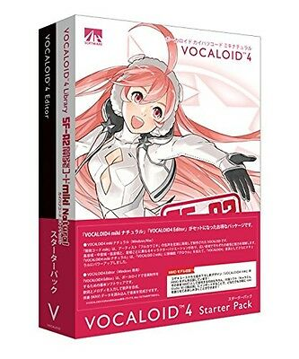 New VOCALOID 4 miki Starter Pack Windows PC Software With Tracking Japan import