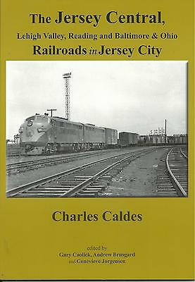 Jersey City,n.j. Waterfront Lehigh Valley, Reading,baltimore & Ohio Railroad