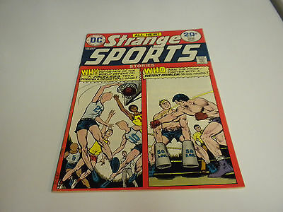 Dc Comics Strange Sports #4 April 1974