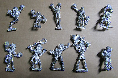 Blood Bowl elf goblin orc cheerleader amazon coach human referee and more M-list