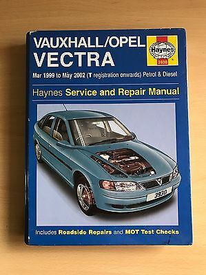 Holden/Vauxhall/Opal Vectra Hayes Service Manual