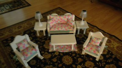 American Made 18 Inch Doll 15 Pc Living Room Adorable Biggg Sale Free Gift