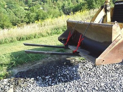 Pallet Forks Loader Bucket Skid Tractor   3500# capacity!   FREE SHIPPING!!