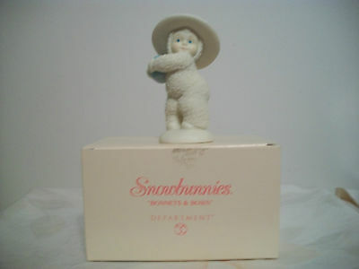 Department 56 Snowbunnies Figurines Bonnets And Bows Easter
