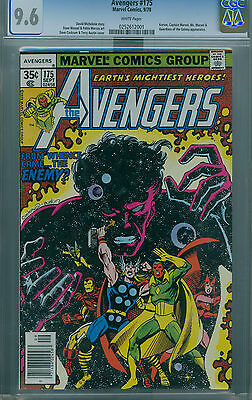 Avengers #175 (1978) Cgc 9.6 White Pages Guardians Of The Galaxy Appearance