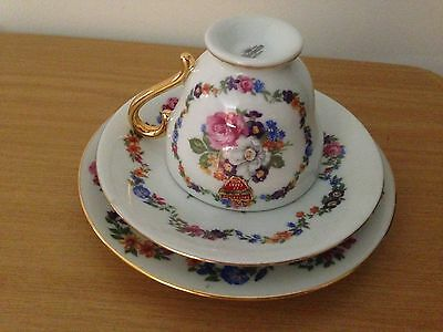 WestMinster fine china cup saucer plate made in Australia