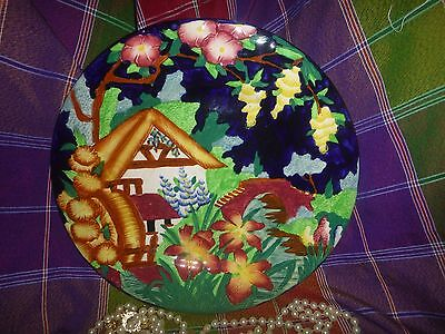 Maling Ware Cottage Water Mill Charger Plate