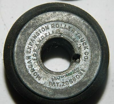 Six Morgan Expansion Roller Trucks Rubber Used Model 26