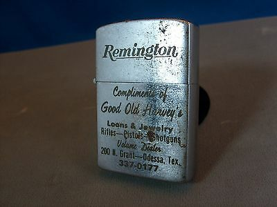 RARE REMINGTON Advertising Lighter CALKOR Lighter Jewelry & Pawn shop