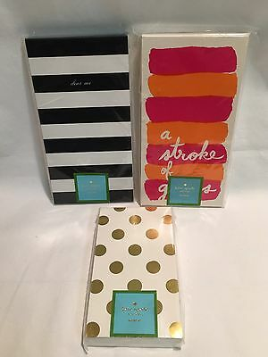 Kate Spade LOT OF 3 NOTEPADS Still Sealed NRFP