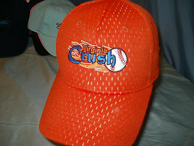 VIRGINIA CRUSH fitted Sz S/M * Ball Cap NEW w/o TAGS