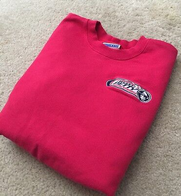 Richard Petty Driving Experience TEAM ISSUE pit crew SWEAT SHIRT M Medium Rare