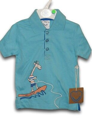 Boys JUST CLASSIC Bells Beach Polo Shirt ~ Size 0 ~ NEW