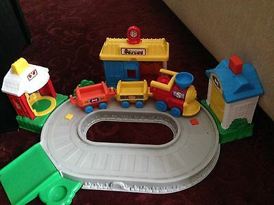 fisher price little people Train Track