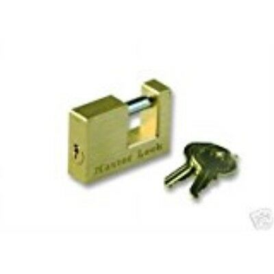 Master Coupler Latch Lock-Solid BrassTrailer Locks #605