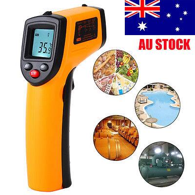 Nice Non-Contact LCD IR Laser Infrared Digital Temperature Meter Thermometer ZX