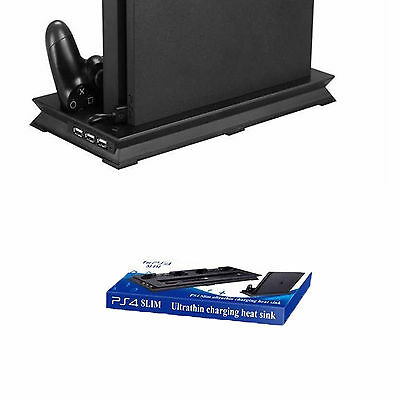 Playstation 4 vertical HUB USB Station de charge Position Stand Support debout