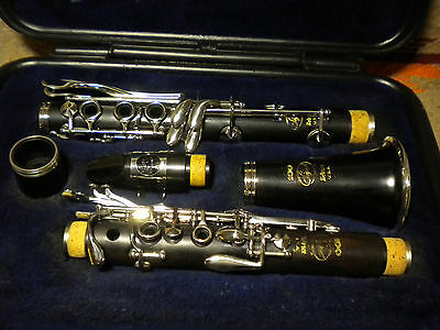 Beautiful Selmer USA Signet 100 All Wood Clarinet ~Awesome Set up! SEEPICS