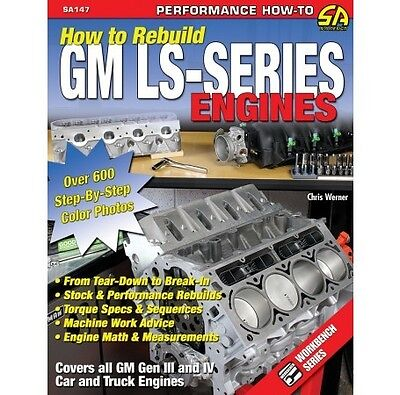 How to Re Build GM LS-Series Engines CHEVY CHEVROLET WORKSHOP REPAIR MANUAL BOOK