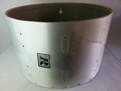 """*Rogers 24x14""""Bass Drum Shell 5ply Maple+Re-Rings Vintage 70s Big R Project*"""