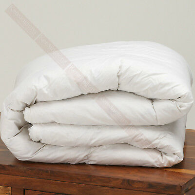 100% Luxury Hungarian Goose Feather and Down Duvet Quilt All Bed Sizes 85/15