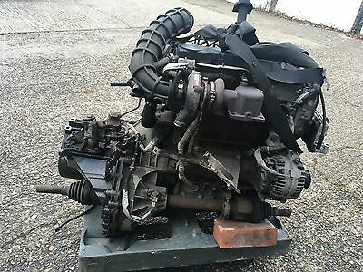 2000-2006 Ford Transit Mk6 2.0 Tddi Complete Engine With Gearbox Injectors 110K