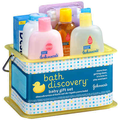 NEWBUON BABY JOHNSON'S Bath Discovery Baby Gift Set New Free Shipping
