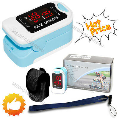 Heart Pulse Rate Blood Oxygen Sensor Paitent Monitor SPO2 Finger Pulse Oxi Meter