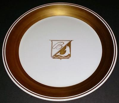 FEC RAILROAD CHINA BREAKERS HOTEL Topmarked SERVICE PLATE Florida East Coast RR