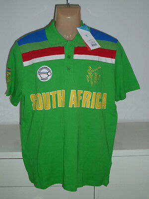 South Africa Cricket World Cup Shirt Jersey Replica 1992 / Size Large Rare Rerto