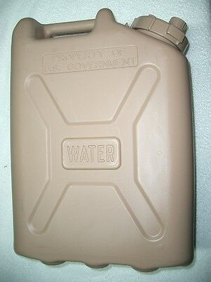 New Military Water Can W/Gasket Kit * MWC * Jerry Can * 5 Gallon Water Can