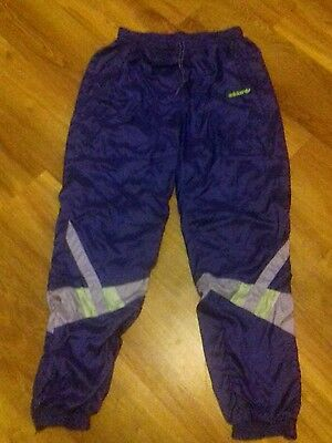 adidas vintage shell suit bottoms
