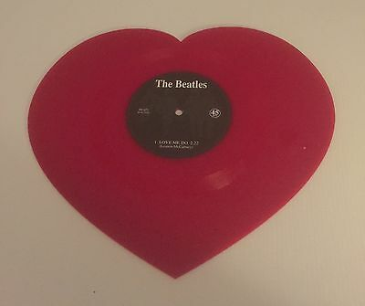 The Beatles - Love Me Do - Red Heart Shaped Vinyl - Limited Edition - New