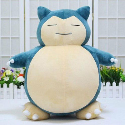 55cm Pokemon Snorlax Design Stuffed Plush Dolls Gifts Bedding For Kids