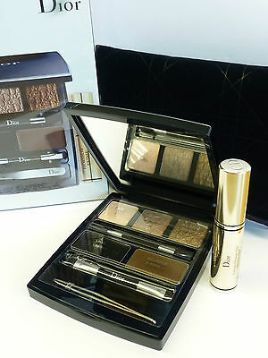DIOR EYE DESIGNER Eye Makeup Palette Eye Shadow Liner Mascara New & Sealed inBox