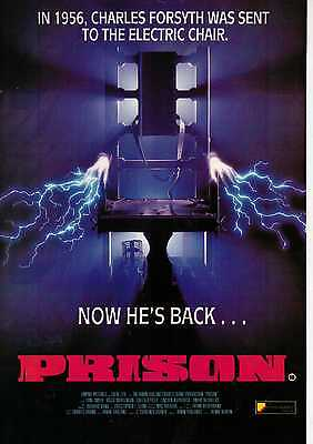 A4 Original Advert for the Video Release of Prison
