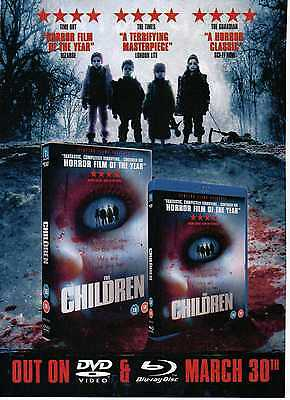A4 Original Advert for the DVD Release of The Children